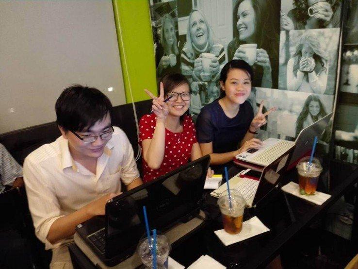 misa cũng tham sự khóa học bổ ích về marketing online