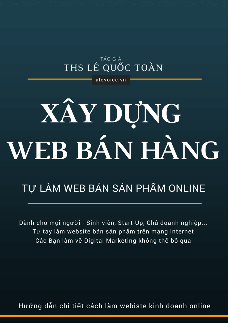 xay dung website ban hang online