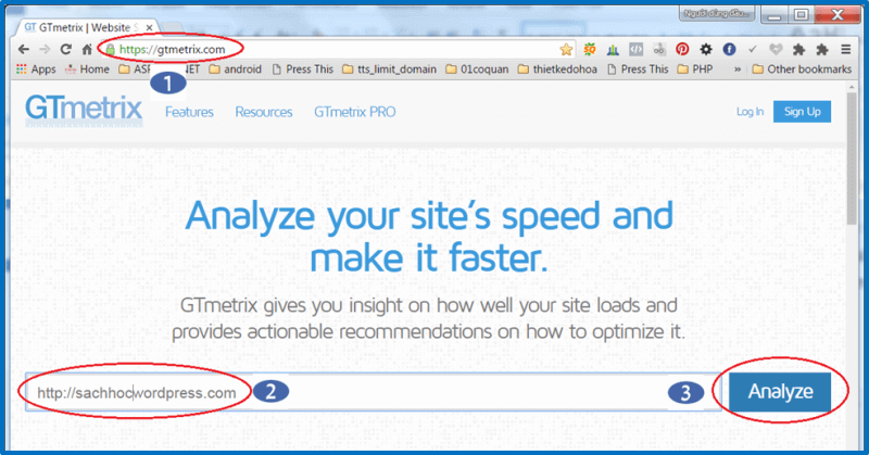 Công cụ kiểm tra website wordpress chạy cham