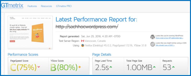 Thời gian và điểm số quyết định Website có tối ưu tốt độ hay không