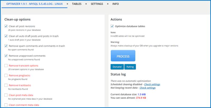 Tối ưu cơ sở dữ liệu trong WordPress