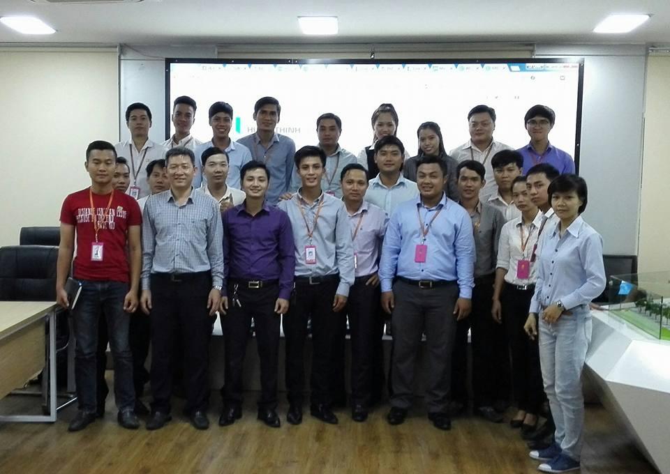 Học viên Hưng Thịnh Land tham gia học WordPress