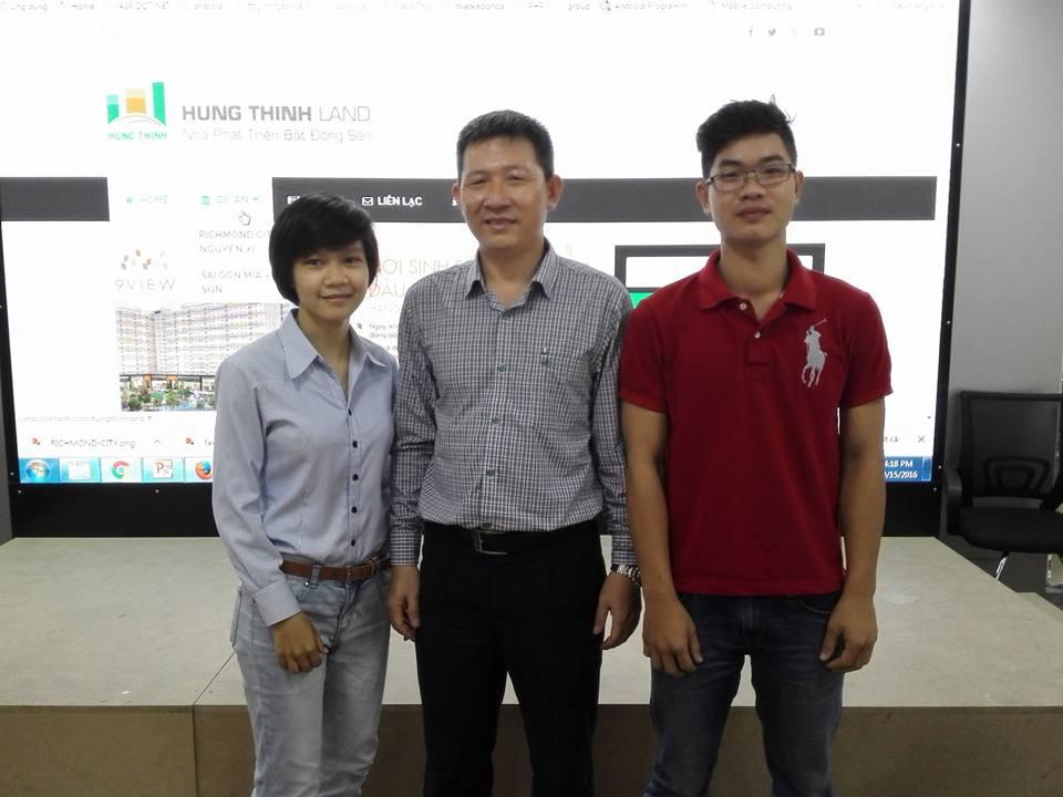 Nhóm hỗ trợ làm Website tại Hưng Thịnh Land