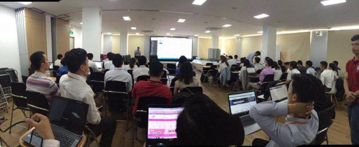 Toàn cảnh lớp học WordPress tại Hưng Thịnh Land