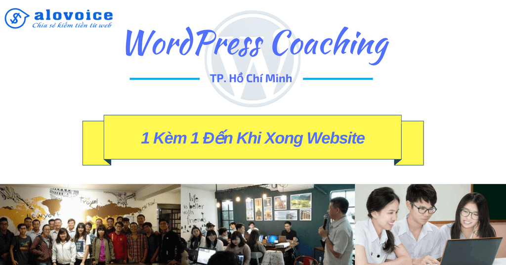 wordpress coaching tp.hcm 1 kem 1 den khi xong website