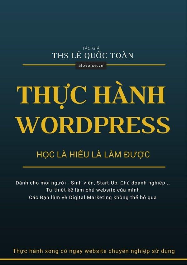 sach thuc hanh wordpress